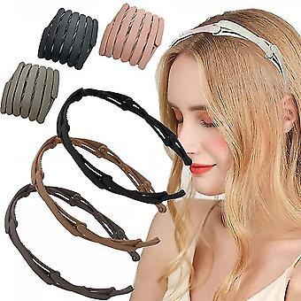מתקפל סרט נשלף עבור נשים בנות ראש חישוקים נסיעות איפור נייד סרטי ראש רצועות שיער