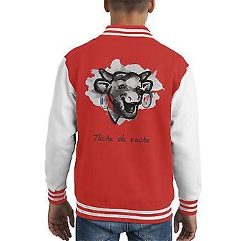 The Laughing Cow Tache De Vache Kid's Varsity Jacket