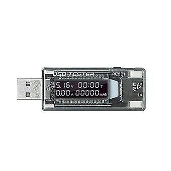 3 in 1 USB Detector Multifunctional USB Tester Multimeter Voltage Current Capacity Monitor Meter