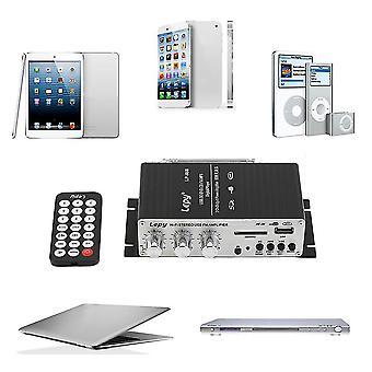 12v Auto Mp3 Hi-Fi Stereo Audio Verstärker mit USB-Anschluss Dvd Fm Mmc