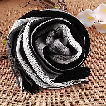 Gestreepte sjaal mannen sjaals sjaals wrap mannen zakelijke sjaal echarpe met kwastjes
