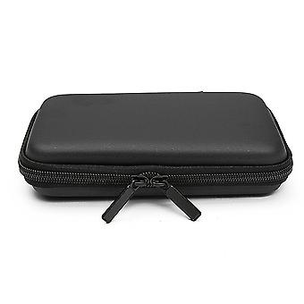 Vízálló utazótáska tároló táska USB flash meghajtóhoz BALCK COLOR