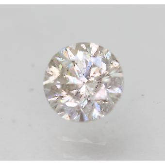 Sertifioitu 0,50 karat H SI2 pyöreä brilliant parannettu luonnollinen löysä timantti 4,88mm