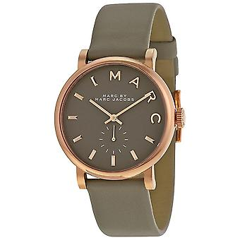 Marc By Marc Jacobs Baker Grey Dial Ladies Watch MBM1266