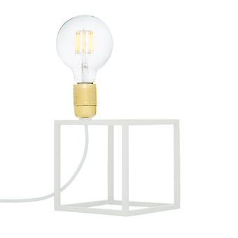 SKLUM Square tafellamp Staal Wit