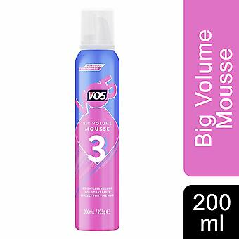 VO5 Big Volume Mousse For Plumped up Volume & Hold 200ml Pack of 4