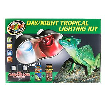 Zoo Med Tag & Nacht Tropical Lighting Kit - Beleuchtung Combo Pack
