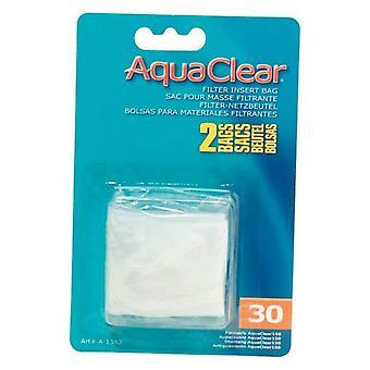 AquaClear Filter Insert Nylon Media Bag - 30 gallon - 2 count