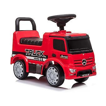 Mercedes Antos 656 loopauto rood met geluid