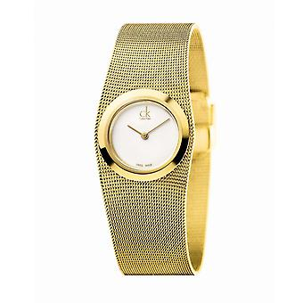 Calvin Klein Uhr IMPULSIVE PO LY PVD1N MESH SIL DIAL - K3T23526 Armband Aluminium