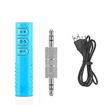 Bluetooth transmitters 3.5Mm jack wireless bluetooth receiver adapter blue