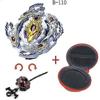 Spinning tops 5 beyblade burst sparking turbo b48 launcher  metal top gyro blade blade spinning fight toys b110
