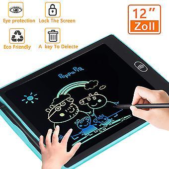 לוח כתיבה LCD צבעוני 12 אינץ', פונקציית אנטי-אישור ועט