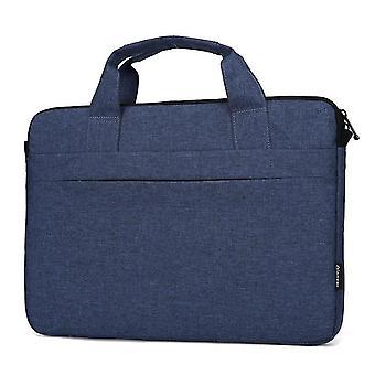 Sac à bandoulière pour ordinateur portable de 14 pouces ou tablette Tissu imperméable durable