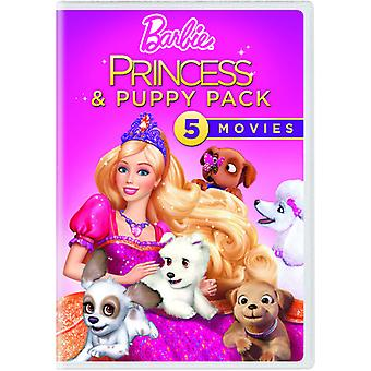Barbie Princess & Puppy Pack [DVD] USA import