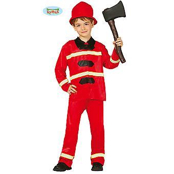 Feuerwehr Kostüm Feuerwehrmann Firefighter Feuerwehrkostüm Kinder