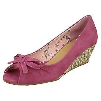Ladies Savannah Small Wedge Shoes