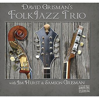Grisman * David / Hurst * Jim / Grisman * Sam - David Grisman Folk Jazz Trio [CD] USA import
