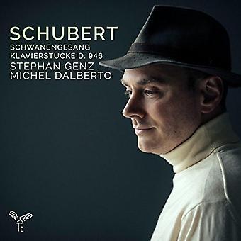シューベルト/Genz、ステファン ・白鳥・ Klavierstucke [CD] 米国のインポート