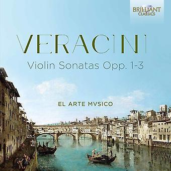 Veracini / El Arte Mvsico - sonater Opp 1-3 [CD] USA import