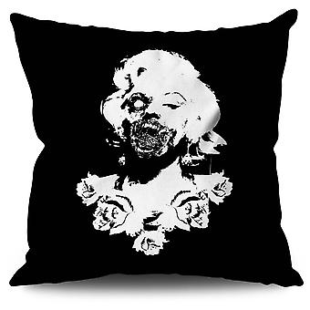 Zombie Linen Cushion 30cm x 30cm | Wellcoda