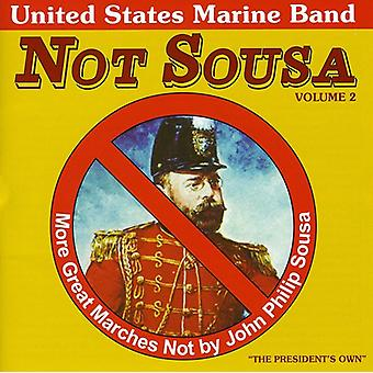 U.S. Marine Band - Not Sousa, Vol. 2 [CD] USA import