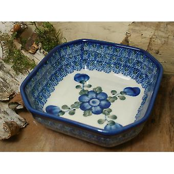 Bowl, 12.5 x 12.5 cm, 5 cm high, 9 - Bunzlau ceramics - BSN 5363 tradition