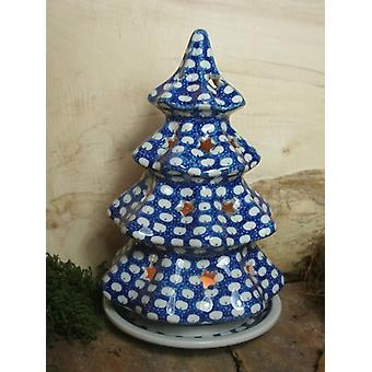 Flameless Christmas tree tradition 4, cheap ceramic - BSN 20055