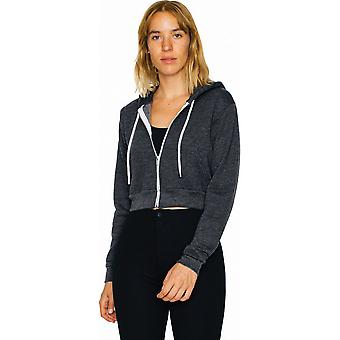 American Apparel Damen/Ladies Flex Fleece Polycotton Crop Hoodie