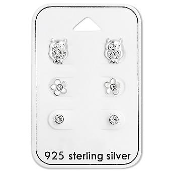 Crystal - 925 Sterling Silver Sets - W28476x