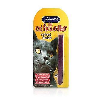 Johnsons Cat  Collar Velvet Finish 50g x 12 pack