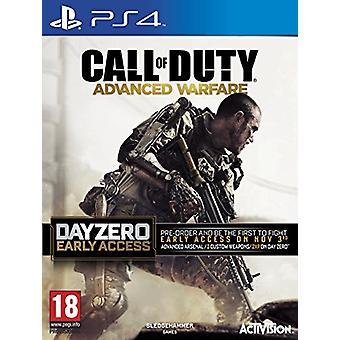 Kalla av plikt Avancerat krigföring dag noll upplagan (PlayStation 4)-ny