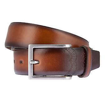 Ceintures de ceinture ceintures hommes LLOYD hommes cuir ceinture Cognac 6834