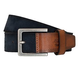 Timberland bælter mænds bælter læder bælte jeans ruskind blå 6768