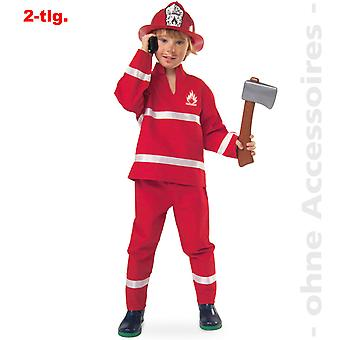 Fantasia infantil de extintor de incêndio de fogo do motor de fogo de crianças de fantasia de bombeiro