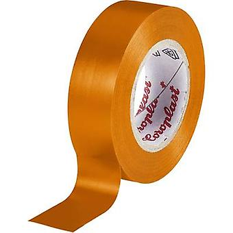 Coroplast 302 302-OG Electrical tape Orange (L x W) 10 m x 15 mm 1 pc(s)