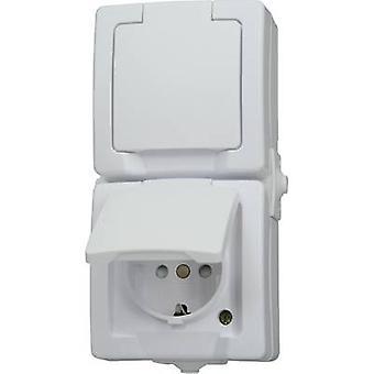 Kopp 136902009 Wet room switch product range Twin socket