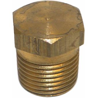 Big A Service Line 3-20940 Brass Hex Head Pipe Plug 1/4