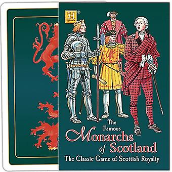 Monarchs Of Scotland Playing Card Game
