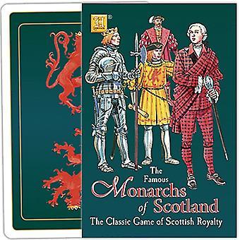 トランプ ゲームのスコットランドの君主