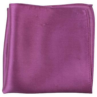 Knightsbridge Neckwear Fine Silk Pocket Square - Purple