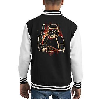 Opprinnelige Stormtrooper Dark Flare barneklubb Varsity jakke