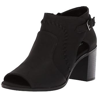 Easy Street Womens Poppet Open Toe Ankle Fashion Boots
