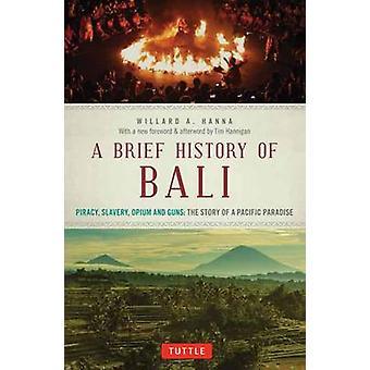 Kort historie om Bali - piratkopiering - slaveri - Opium og kanoner - historien o
