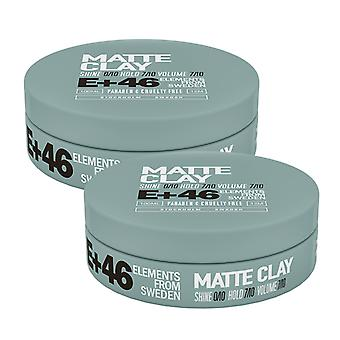 2-pack E + 46 Matte Clay 100ML
