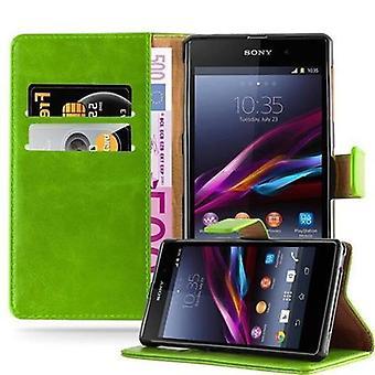 Cadorabo Case för Sony Xperia Z1 fodral Cover-telefon fodral med magnetstängning, stand-funktion och kort Case-fodral fodral fodral fodral fall fodral