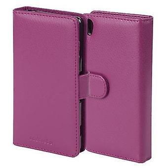 Custodia Cadorabo per Sony Xperia n. 5 Premium Case Cover - Custodia per telefono con chiusura magnetica e 3 slot per carte - Case Cover Case Case Case Case Folding Style