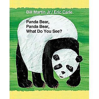Panda Bear, Panda Bear, wat wil je zien? (Bruine beer en vrienden)
