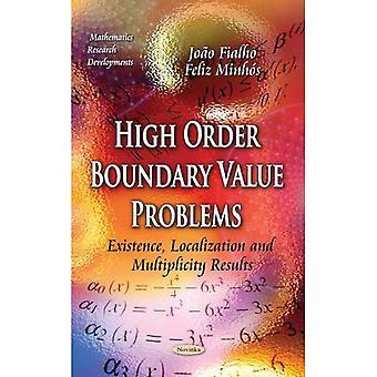 [(Problemas de valor de contorno de alta ordem: existência, localização e multiplicidade de resultados)] [Por (autor) Joo ó Fialho...