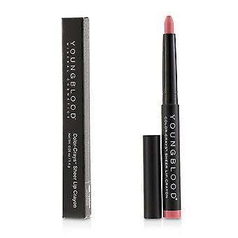 Youngblood väri Crays matta huuli Crayon-# vaaleanpunainen bikinit-1.4 g/0,05 oz